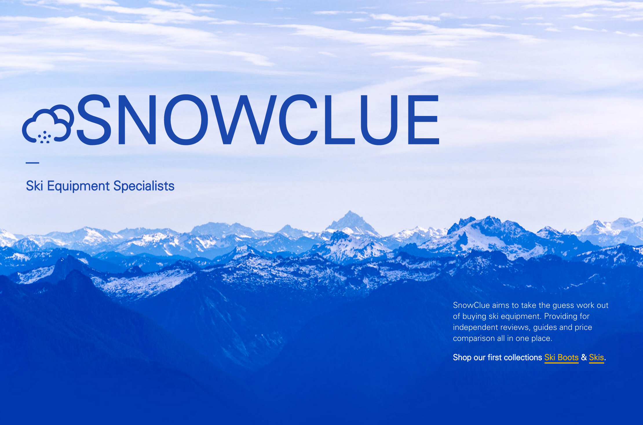 A screenshot of Snowclue.com